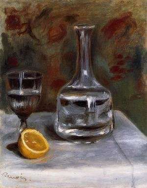 Pierre Auguste Renoir - Still Life With Carafe