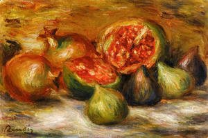 Pierre Auguste Renoir - Still Life With Figs