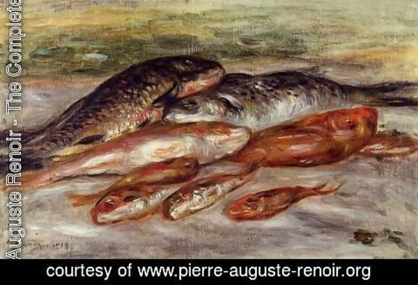 Pierre Auguste Renoir - Still Life With Fish2