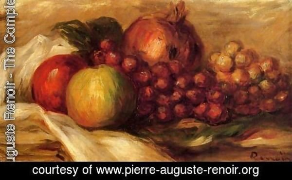Pierre Auguste Renoir - Still Life With Fruit