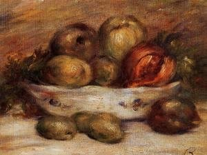 Pierre Auguste Renoir - Still Life With Fruit2
