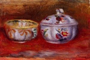 Pierre Auguste Renoir - Still Life With Fruit Bowl
