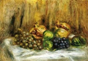 Pierre Auguste Renoir - Still Life With Grapes