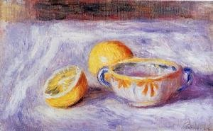 Pierre Auguste Renoir - Still Life With Lemons