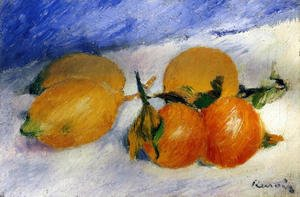 Pierre Auguste Renoir - Still Life With Lemons And Oranges
