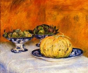 Pierre Auguste Renoir - Still Life With Melon