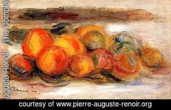 Pierre Auguste Renoir - Still Life With Peaches3