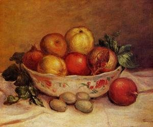 Pierre Auguste Renoir - Still Life With Pomegranates