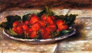 Pierre Auguste Renoir - Still Life With Strawberries2