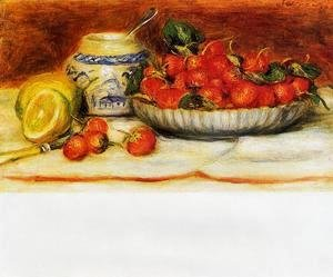 Pierre Auguste Renoir - Strawberries