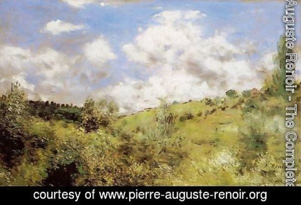 Pierre Auguste Renoir - Strong Wind Aka Gust Of Wind