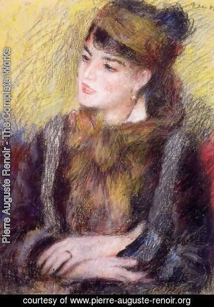 Pierre Auguste Renoir - Study Of A Woman