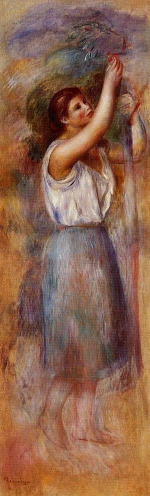 Pierre Auguste Renoir - Study Of A Woman2