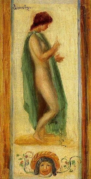 Pierre Auguste Renoir - Study Of A Woman  For Oedipus