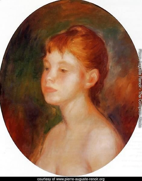 Study Of A Young Girl Aka Mademoiselle Murer