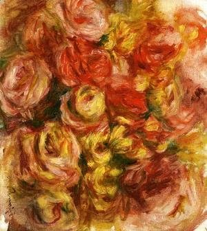 Pierre Auguste Renoir - Study Of Flowers