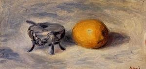 Pierre Auguste Renoir - Sugar Bowl And Lemon