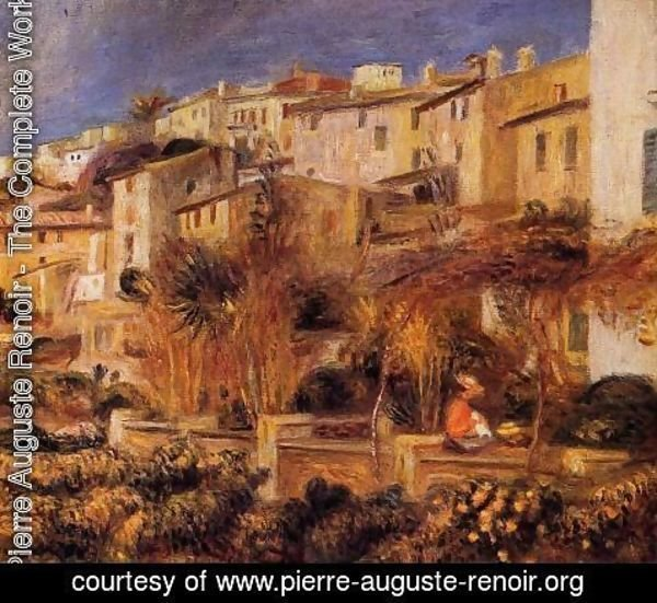 Pierre Auguste Renoir - Terraces At Cagnes