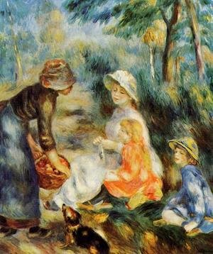 Pierre Auguste Renoir - The Apple Seller