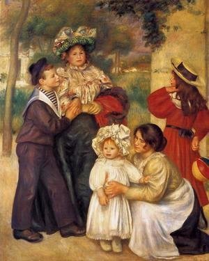 Pierre Auguste Renoir - The Artists Family