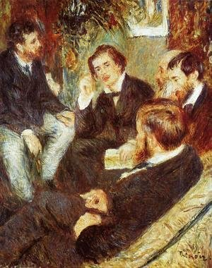 Pierre Auguste Renoir - The Artists Studio  Rue Saint Georges