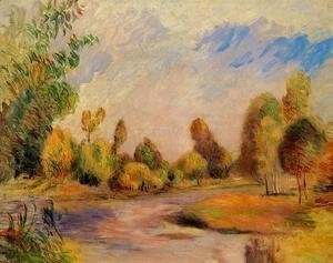 Pierre Auguste Renoir - The Banks Of The River