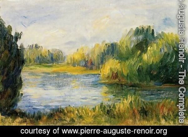Pierre Auguste Renoir - The Banks Of The River2
