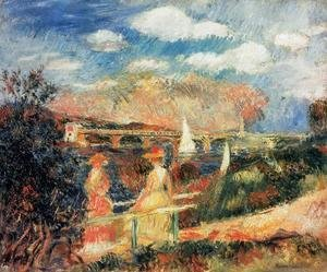 Pierre Auguste Renoir - The Banks Of The Seine At Argenteuil