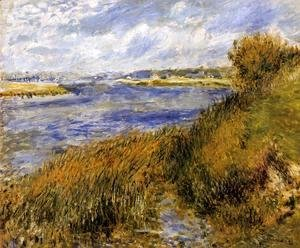 Pierre Auguste Renoir - The Banks Of The Seine At Champrosay