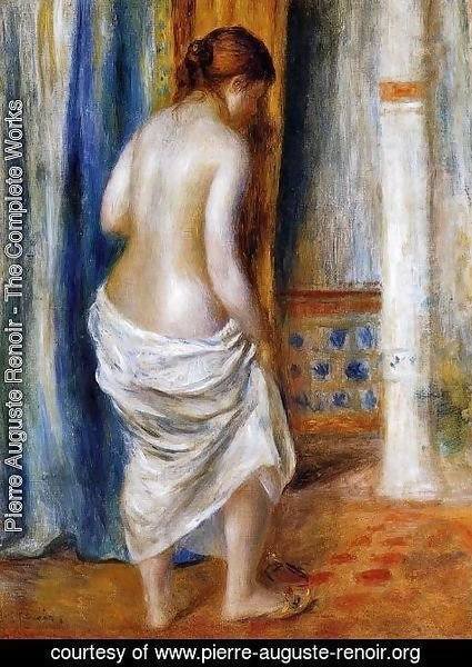 Pierre Auguste Renoir - The Bathrobe
