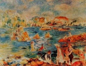 Pierre Auguste Renoir - The Beach At Guernsey