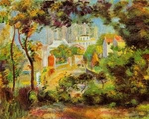 Pierre Auguste Renoir - The Building Of Sacred Heart