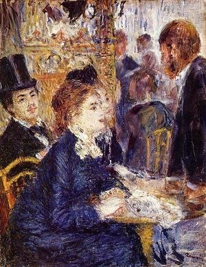 Pierre Auguste Renoir - The Cafe