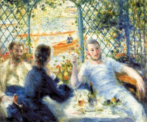 Pierre Auguste Renoir - The Canoeists Luncheon