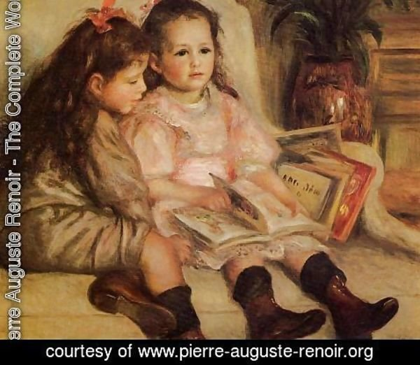 Pierre Auguste Renoir - The Children Of Martial Caillebotte