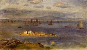 Pierre Auguste Renoir - The Coast Of Brittany  Fishing Boats