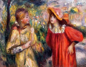 Pierre Auguste Renoir - The Conversation