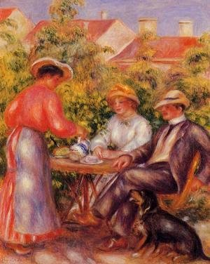Pierre Auguste Renoir - The Cup Of Tea