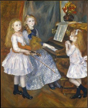 Pierre Auguste Renoir - The Daughters Of Catulle Mendes