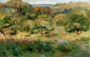 Pierre Auguste Renoir - The Edge Of The Forest In Brittany