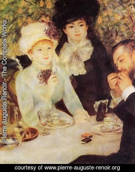 Pierre Auguste Renoir - The End Of Lunch
