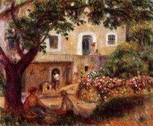Pierre Auguste Renoir - The Farm