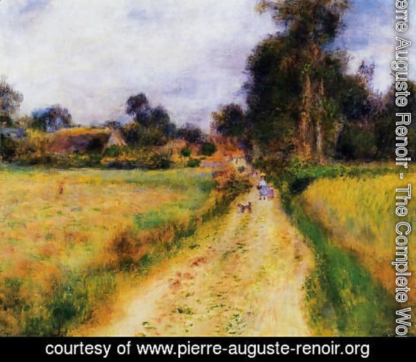Pierre Auguste Renoir - The Farm2