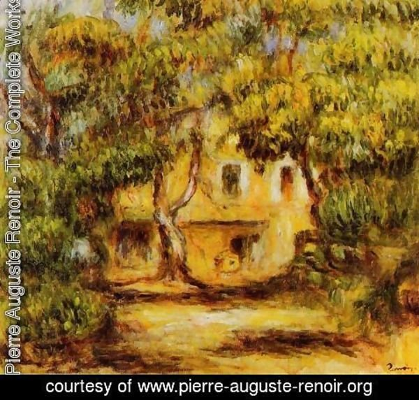 Pierre Auguste Renoir - The Farm At Collettes