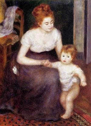 Pierre Auguste Renoir - The First Step
