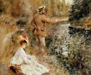 Pierre Auguste Renoir - The Fisherman