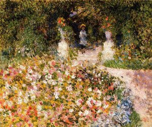 Pierre Auguste Renoir - The Garden Aka In The Park