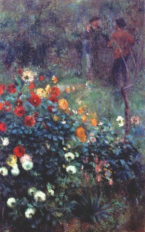 Pierre Auguste Renoir - The Garden In The Rue Cortot At Montmartre