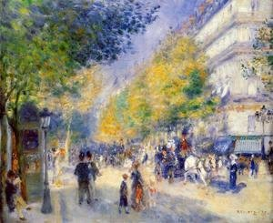 Pierre Auguste Renoir - The Great Boulevards
