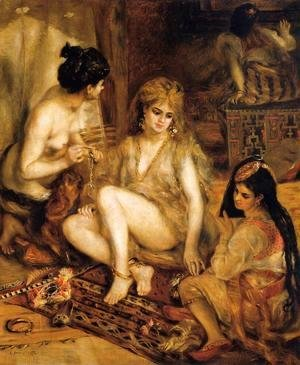 Pierre Auguste Renoir - The Harem Aka Parisian Women Dresses As Algerians